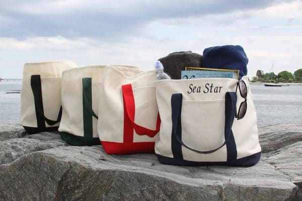 Custom Embroidered Totes Made in Maine