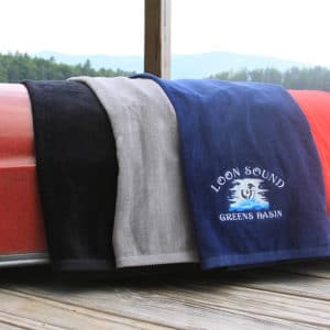 Maine Custom Embroidery Towels