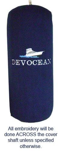 Custom Fleece Boat Fender Covers