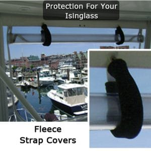 Fleece Strap Covers for Boats