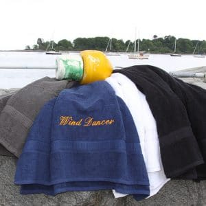 Custom Embroidered Bath Towels